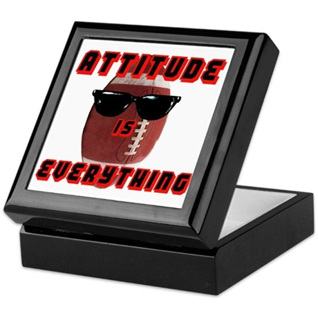Attitude is Everything - Foot Keepsake Box