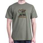 Wife - Steady Job - Fishermen Dark T-Shirt