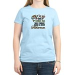Wife - Steady Job - Fishermen Women's Light T-Shir