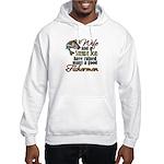 Wife - Steady Job - Fishermen Hooded Sweatshirt