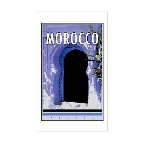 Morocco Rectangle Sticker