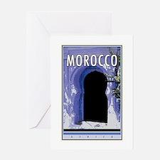 Morocco Greeting Card