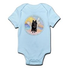 W - Schipperke Angel Infant Bodysuit