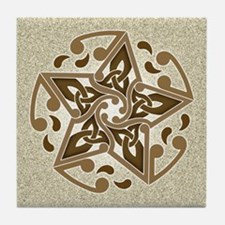 Celtic Star Tile Coaster