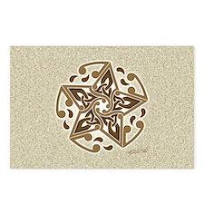 Celtic Star Postcards (Package of 8)