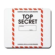 Top Secret Mousepad