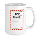 Top Secret Large Mug