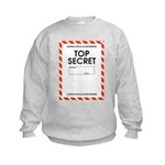 Top Secret Kids Sweatshirt