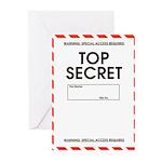 Top Secret Greeting Cards (Pk of 20)