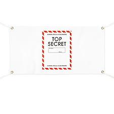 Top Secret Banner