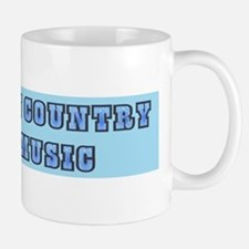 Ban Country Music Mug