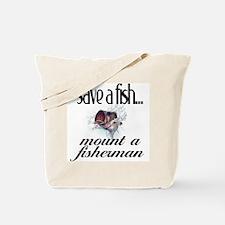 Save a Fish Tote Bag
