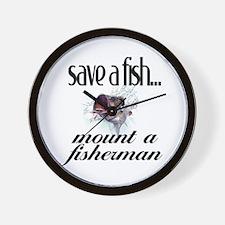 Save a Fish Wall Clock