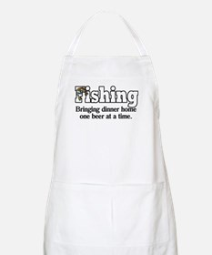 One Beer At A Time BBQ Apron