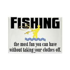 Fishing Fun Rectangle Magnet
