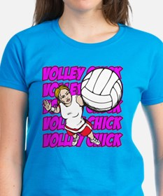 Volley Chick Tee