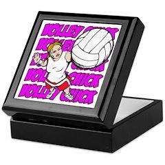 Volley Chick Keepsake Box