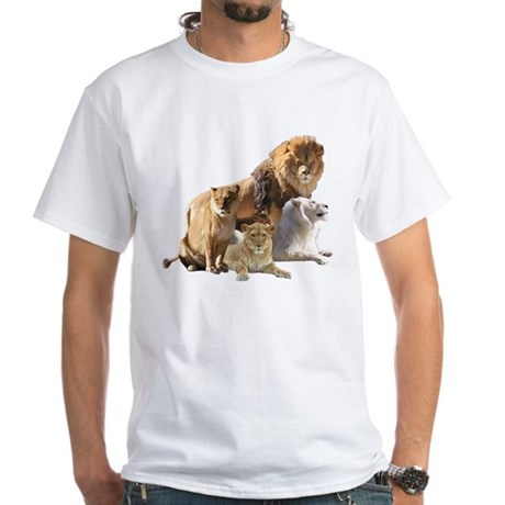 Lion Pride White T-Shirt