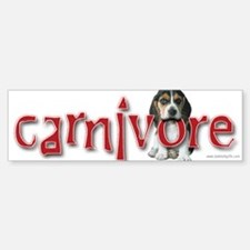 Carnivore... Bumper Bumper Bumper Sticker
