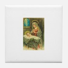 Mary & Jesus Tile Coaster