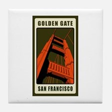 Golden Gate Tile Coaster