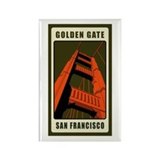 Golden Gate Rectangle Magnet