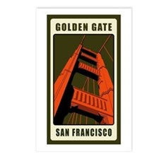 Golden Gate Postcards (Package of 8)