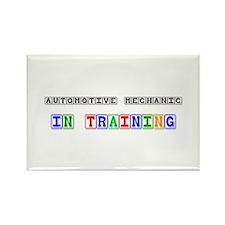 Automotive Mechanic In Training Rectangle Magnet