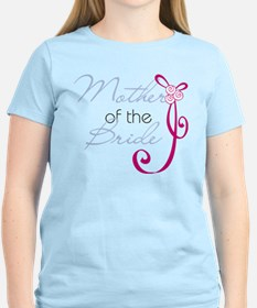 Wedding Ribbon Mother of the Bride T-Shirt
