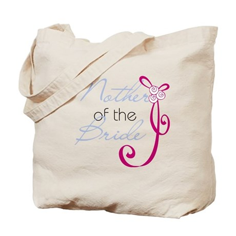 Wedding Ribbon Mother of the Bride Tote Bag