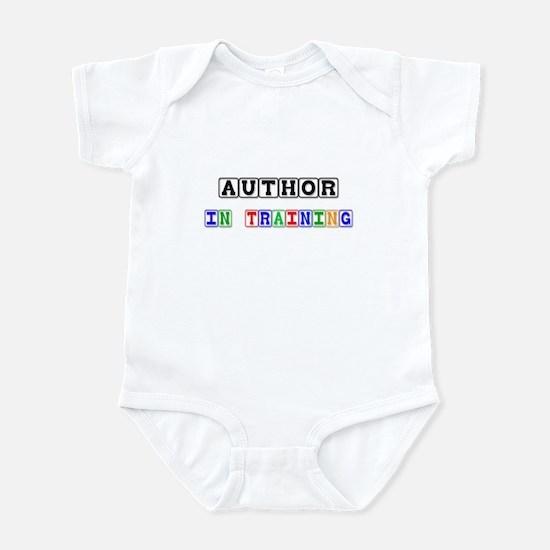 Author In Training Infant Bodysuit