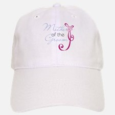 Wedding Ribbon Mother of the Groom Baseball Baseball Cap