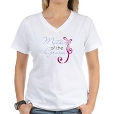 Wedding Ribbon Mother of the Groom Shirt