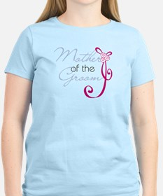 Wedding Ribbon Mother of the Groom T-Shirt