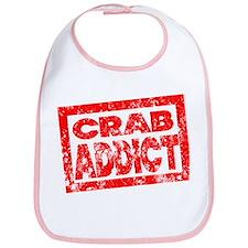 Crab ADDICT Bib