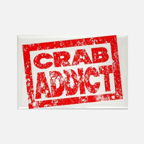 Crab ADDICT Rectangle Magnet