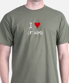 I LOVE Crabs T-Shirt