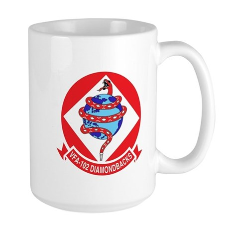 VFA-102 DIAMONDBACKS Large Mug