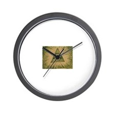 eye of the dollar Wall Clock