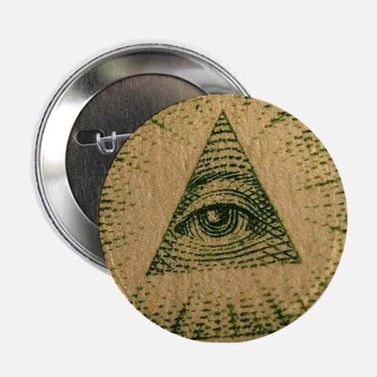 "eye of the dollar 2.25"" Button"