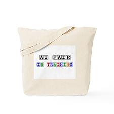Au Pair In Training Tote Bag