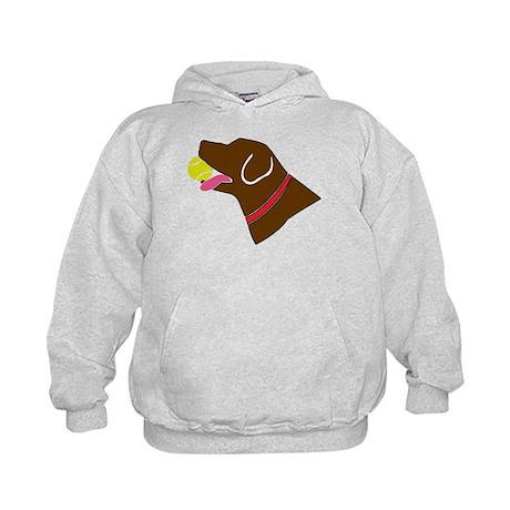 Chocolate Lab Kids Hoodie