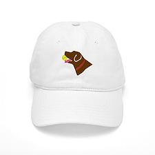 Chocolate Lab Baseball Cap