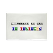 Attorneys At Law In Training Rectangle Magnet