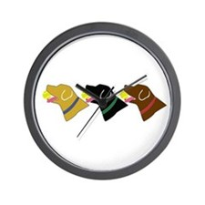 Retrivers Wall Clock