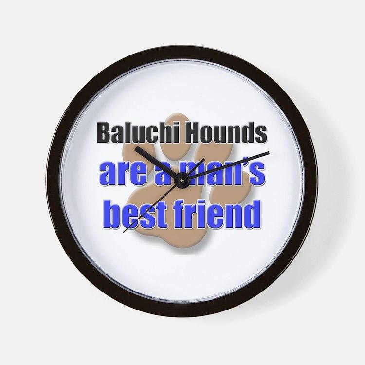 Baluchi Hounds man's best friend Wall Clock
