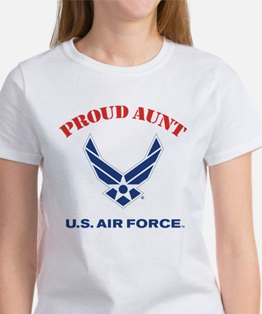 Proud US Air Force A Women's Classic White T-Shirt