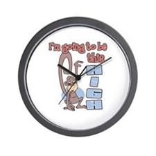 I'm going to be this high Wall Clock