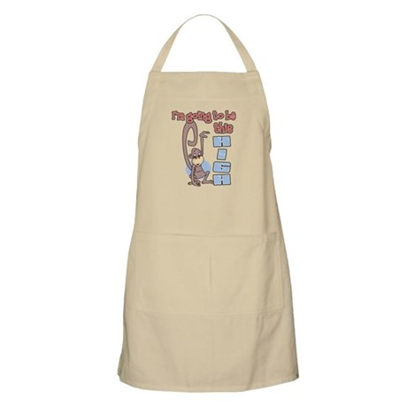 I'm going to be this high BBQ Apron