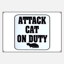 Attack Cat Banner